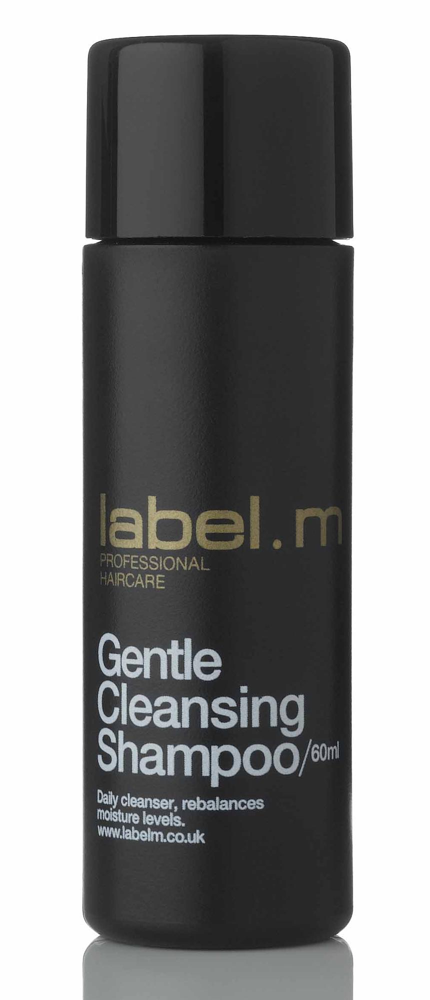 Čisticí šampon pro všechny typy vlasů Label.m Gentle Cleansing - 60 ml (600151)