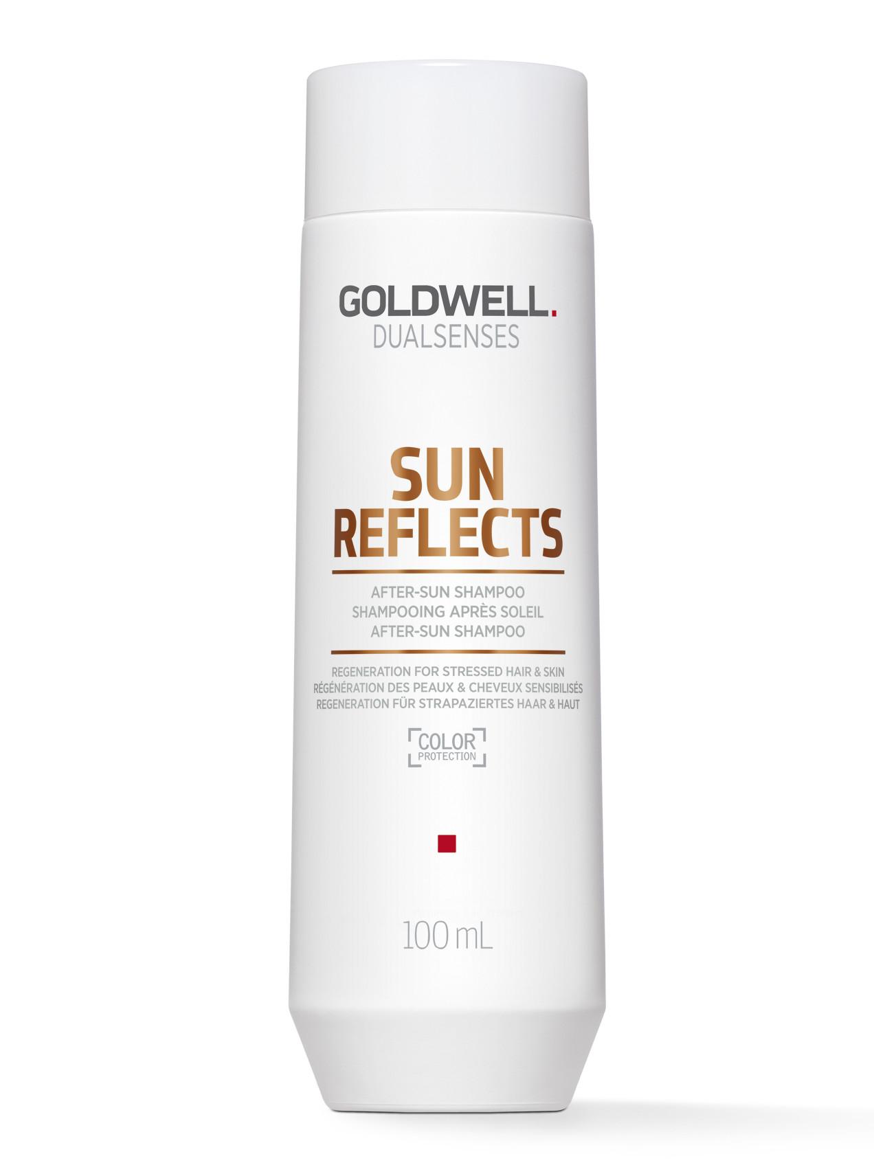 Šampon na vlasy vystavené slunci Goldwell Sun Reflects - 100 ml (202953)