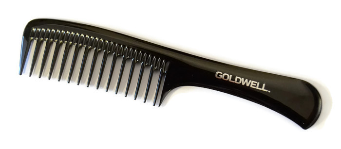 Hřeben na stříhání vlasů s rukojetí Goldwell - 225 mm (244719) + DÁREK ZDARMA