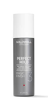 Jemný lak pro lesk vlasů Goldwell Magic Finish - 200 ml (227539) + DÁREK ZDARMA