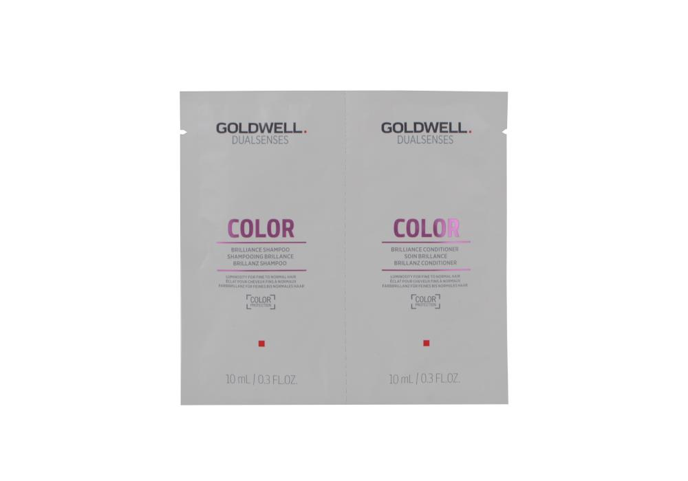 Šampon a kondicionér pro jasnější barvu Goldwell Color - 2 x 10 ml (206172)