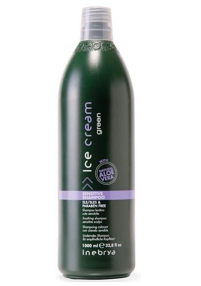 Šampon pro citlivou pokožku Inebrya Green Aloe Vera - 1000 ml (776797) + DÁREK ZDARMA