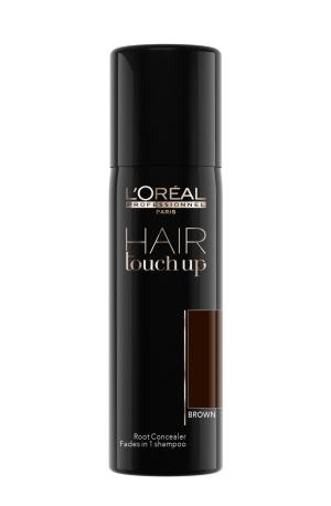 Sprej pro zakrytí odrostů Loréal Hair touch up 75 ml - hnědá