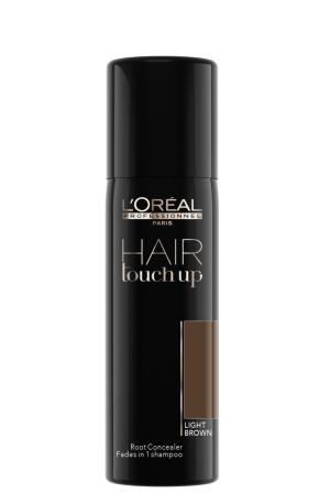 Sprej pro zakrytí odrostů Loréal Hair touch up 75 ml - sv. hnědá
