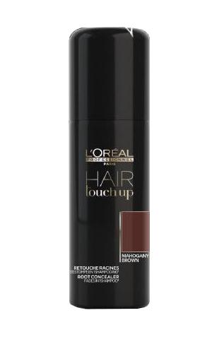 Sprej pro zakrytí odrostů Loréal Hair touch up 75 ml - mahagon