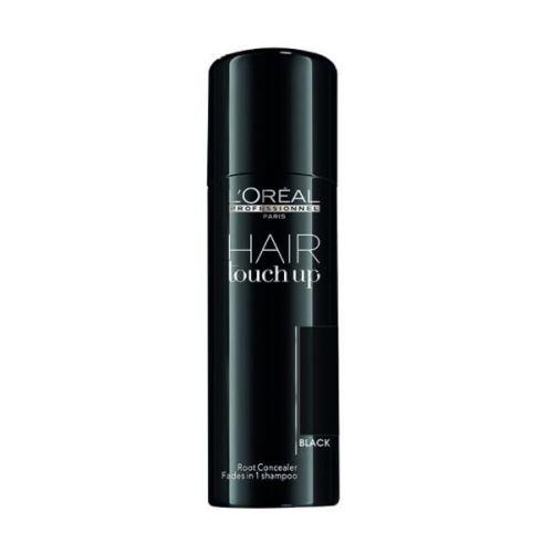 Sprej pro zakrytí odrostů Loréal Hair touch up 75 ml - černá + DÁREK ZDARMA