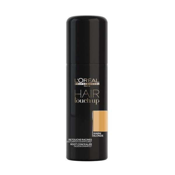 Sprej pro zakrytí odrostů Loréal Hair touch up 75 ml - teplá blond
