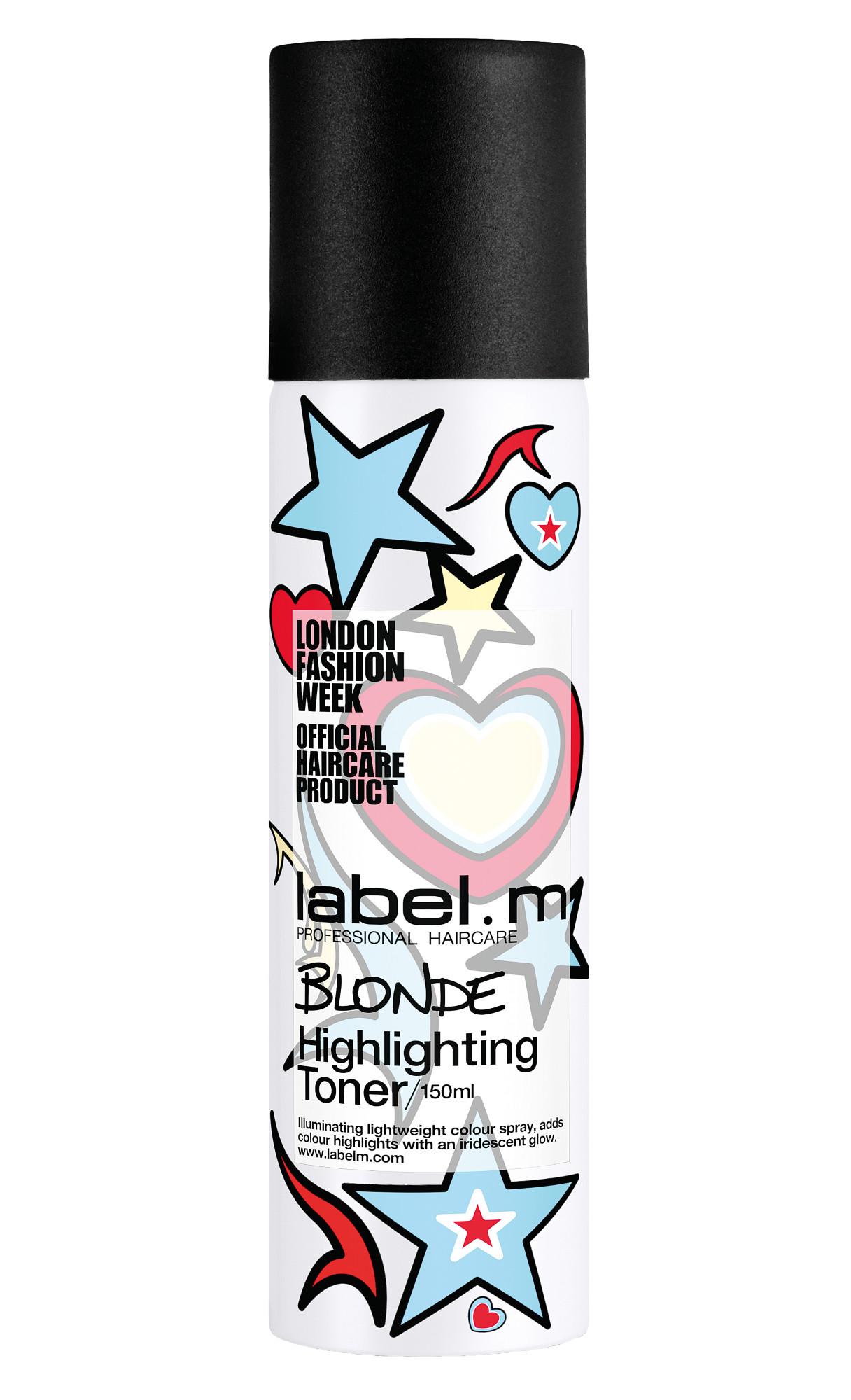 Zvýrazňující barevný toner Label.m Highlighting Toner 150 ml - blond (600629) + DÁREK ZDARMA