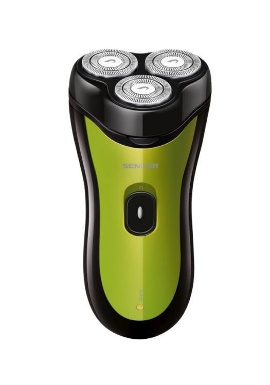 Elektrický holící strojek Sencor SMS 4012GR - zelený, 3W + DÁREK ZDARMA