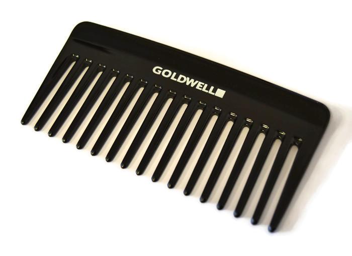 Hřeben na vlasy Goldwell, 70 x 145 mm - černý (244898)