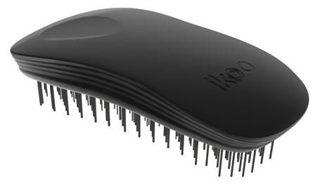 Kartáč na vlasy Ikoo Home Classic Black - černý + DÁREK ZDARMA