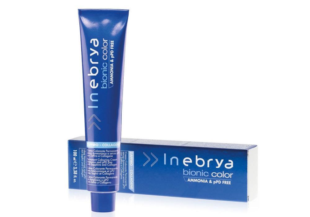 Barva na vlasy Inebrya Bionic 100 ml - 6/4 tmavá měděná blond (776137) + DÁREK ZDARMA