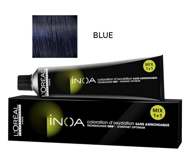 Loréal Inoa 2 barva na vlasy 60 g - odstín BLUE MIX