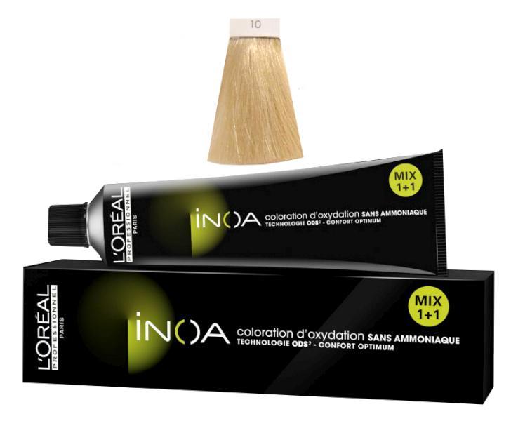 Loréal Inoa 2 barva na vlasy 60 g - odstín 10,21