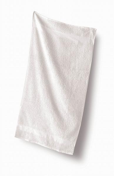 Ručník froté 50 x 100 cm - 100% bavlna, 470 g/m2, bílý, 1 ks (0100) - Kapatex
