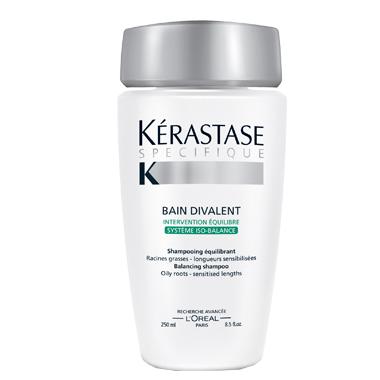 Bain divalent mastné kořínky - suché konce 250 ml - Kérastase Paris + DÁREK ZDARMA
