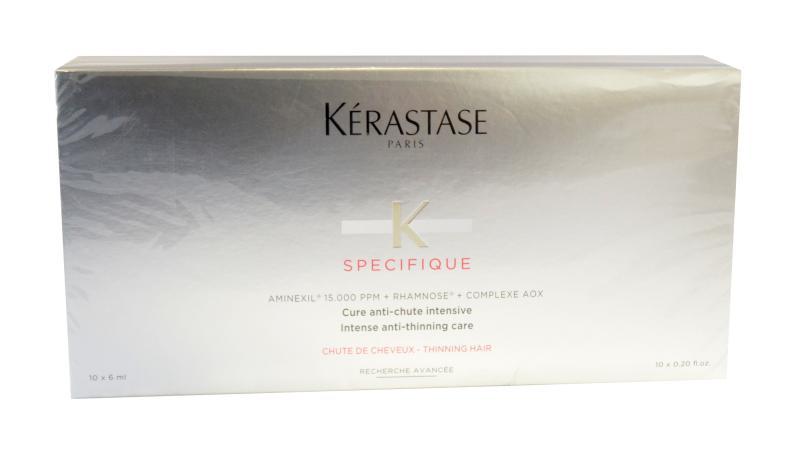 Intenzivní kúra proti vypadávání vlasů Kérastase Aminexil - 10 x 6 ml + DÁREK ZDARMA