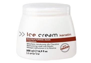 Restrukturalizační maska s keratinem Inebrya Keratin - 500 ml (776783) + DÁREK ZDARMA