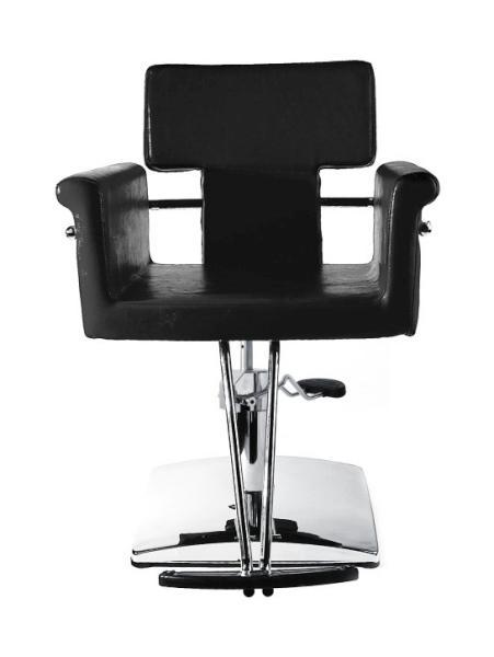 Kadeřnické křeslo Hairway NICOLE - černé II. jakost + DÁREK ZDARMA
