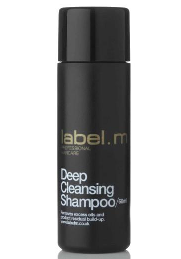 Hloubkově čisticí šampon Label.m Deep Cleansing - 60 ml (600147)