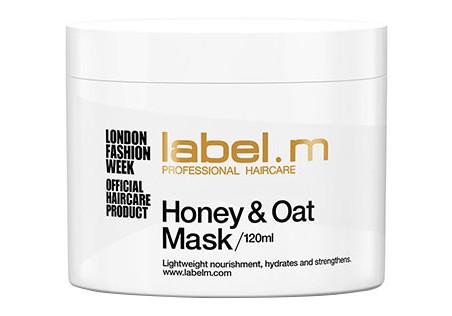 Hydratační maska pro poškozené vlasy Label.m Honey a Oat - 120 ml (600561)