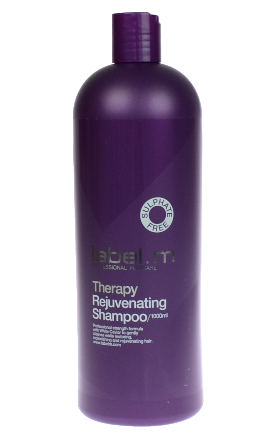 Posilující a omlazující šampon Label.m Therapy Rejuvenating Shampoo - 1000 ml (600555) + DÁREK ZDARMA