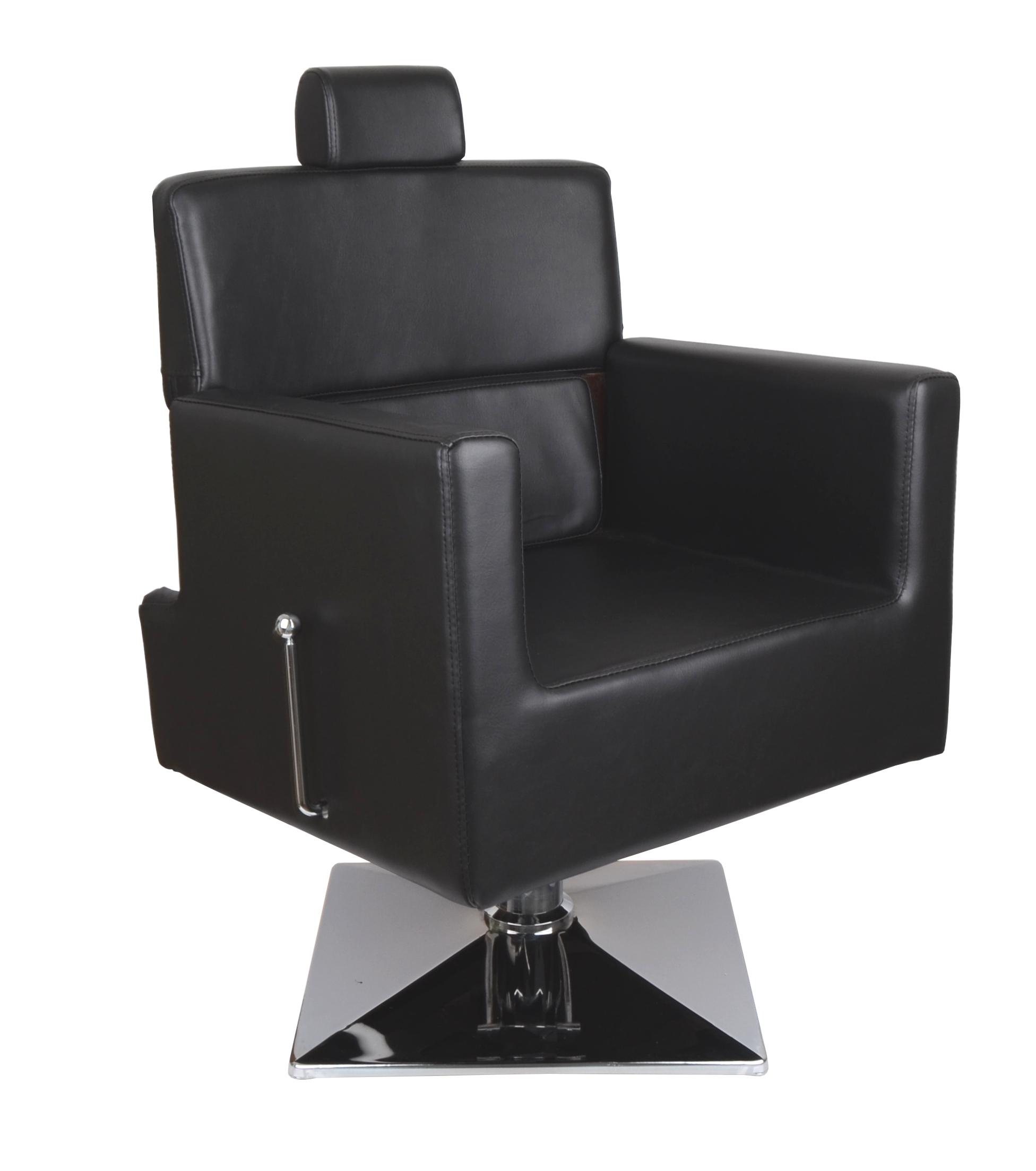Kadeřnické barber křeslo Detail Larry - černá (68) (DHS6206-68) + cf0ac78585e