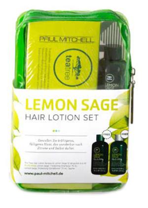 Sada pro objem vlasů Paul Mitchell Lemon Sage + taštička (702711) + DÁREK ZDARMA