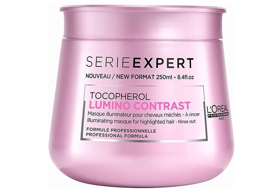 Maska pro melírované vlasy Loréal Lumino contrast 250 ml + DÁREK ZDARMA