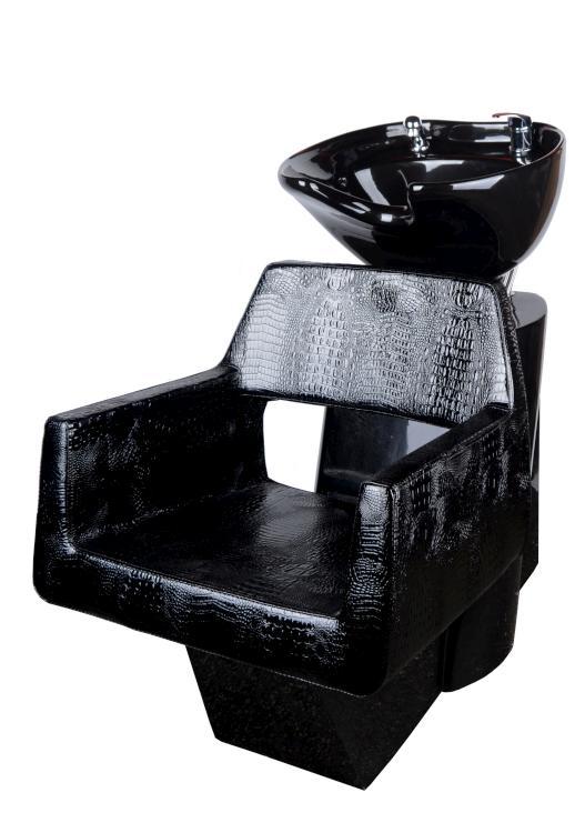Kadeřnický mycí box Detail Luxor - černý (71) (DHS6667-71) + DÁREK ZDARMA