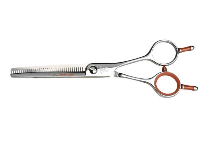 """Kadeřnické efilační nůžky Matsuzaki ES 6035D - 35 zubů, 6"""" (800115) + DÁREK ZDARMA"""