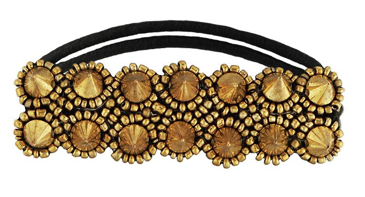 Condition Culture Tassel gumička do vlasů - MELROSE GOLD (50411401)