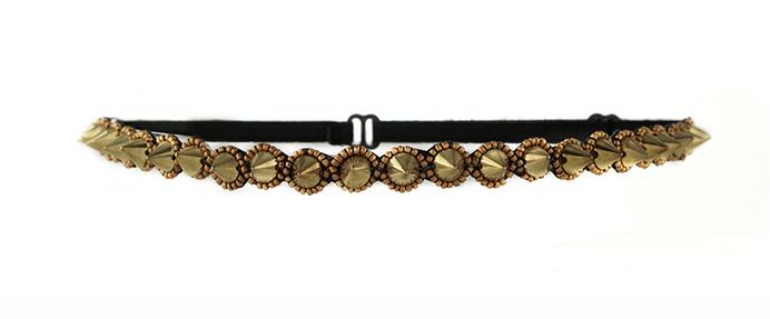 Condition Culture Tassel čelenka do vlasů - MELROSE GOLD (50541430) + DÁREK ZDARMA