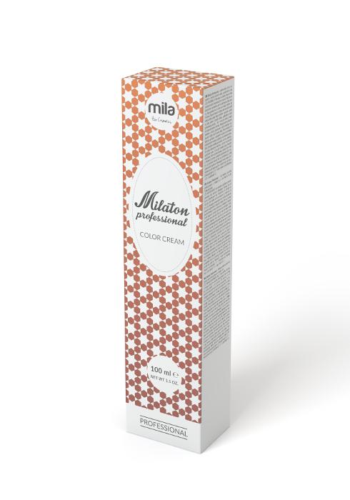 Barva na vlasy Milaton 100 ml - 7.34 čokoládová blond (0100734)