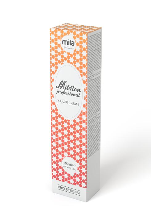 Barva na vlasy Milaton 100 ml - 7.40 ohnivá měď (0100740)