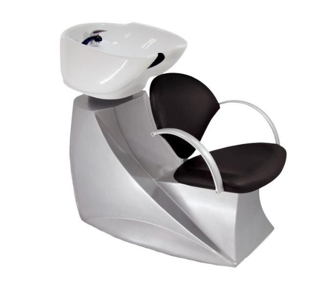 Kadeřnický mycí box Hairway Silvia - stříbrná (57222-32) + DÁREK ZDARMA