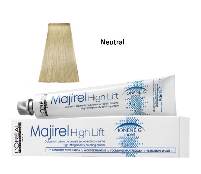 Majirel High Lift zesvětlující barva na vlasy 50 ml - Neutral - Loréal Professionnel + DÁREK ZDARMA