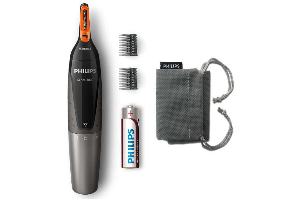 Zastřihovač ušních a nosních chloupků Philips NT3160/10 + DÁREK ZDARMA