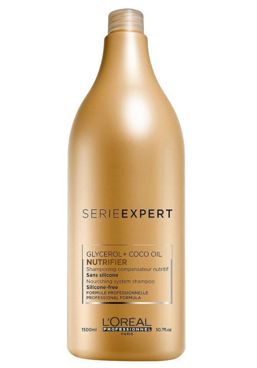 Vyživující šampon pro suché vlasy Loréal Nutrifier - 1500 ml + DÁREK ZDARMA