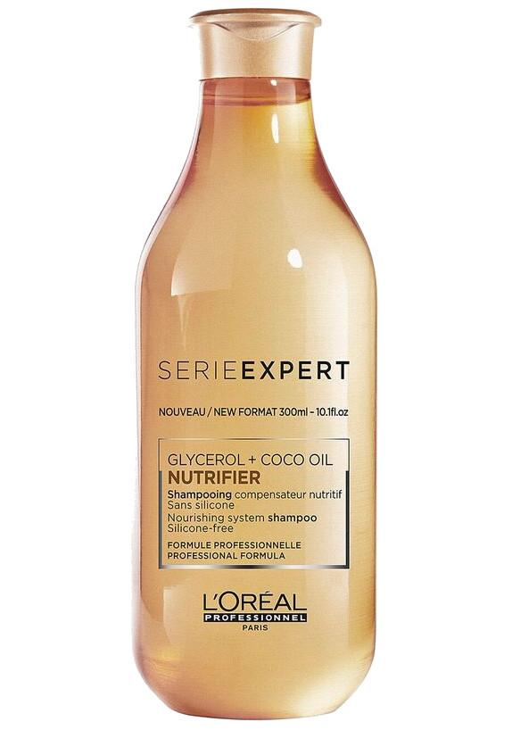 Vyživující šampon pro suché vlasy Loréal Nutrifier - 300 ml