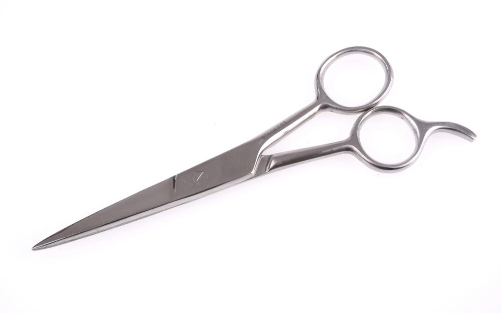 "Kadeřnické nůžky Ice Classic 5,5"" - hladké, plochý šroub (702/5) - DUKO"