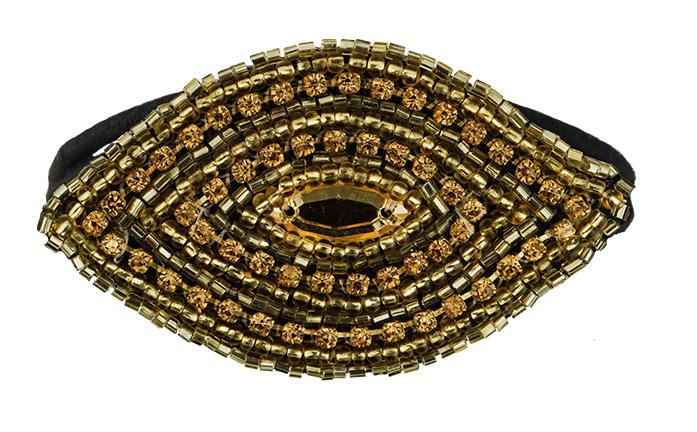 Condition Culture Tassel gumička do vlasů - OCEAN GOLD (50411414)