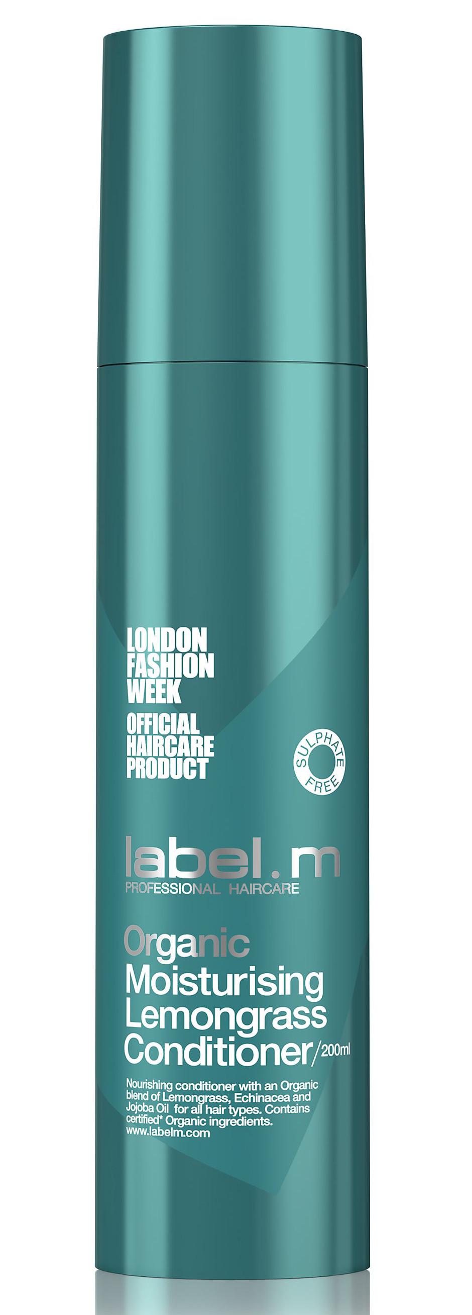 Hydratační kondicionér Label.m Organic Moisturising Lemongrass - 200 ml (600081) + DÁREK ZDARMA