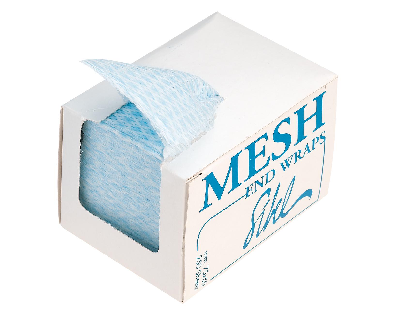 Papírky na trvalou ondulaci Sibel Mesh, 75 x 50 mm - 250 ks (4330231)