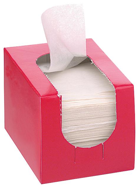 Papírky na trvalou z netkané textilie Sibel Eco, 75 x 50 mm - 1000 ks (4480300)