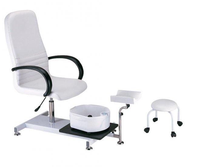 Pedikúrní Sada (křeslo+podnožka+stolička) (52201) - Hairway + DÁREK ZDARMA