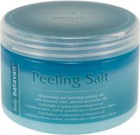 Zvláčňující a hydratační peelingová sůl Batavan, máta - 700 g + DÁREK ZDARMA