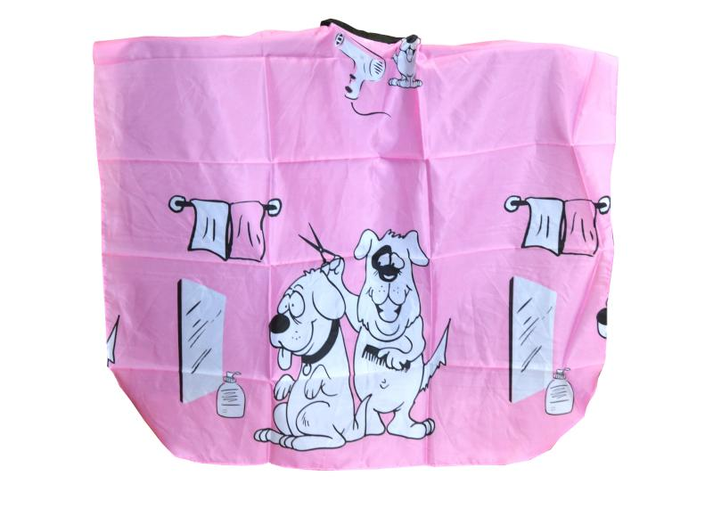 Kadeřnická pláštěnka Fox Collection basic dětská - růžová (1509402, 7512001) + DÁREK ZDARMA