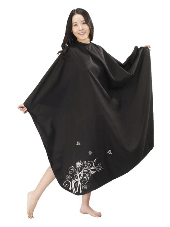 Kadeřnická pláštěnka Mila TREE černá (0068337)