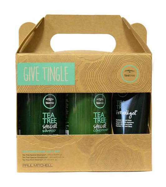 Dárková sada pro lesk vlasů Paul Mitchell Tea Tree - Give Tingle + DÁREK ZDARMA